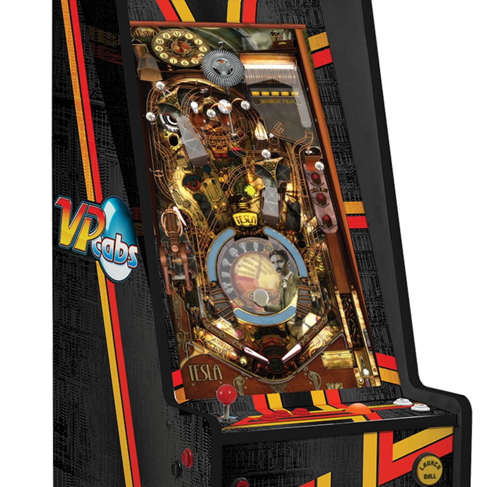 af52cd9d126 Virtual 60-Game Pinball Arcade - Hammacher Schlemmer