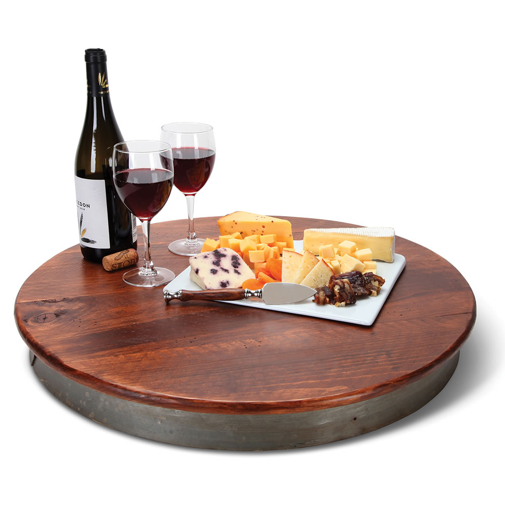 The Oenophiles Lazy Susan Hammacher Schlemmer