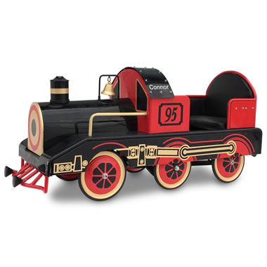 The Personalized Golden Era Pedalled Locomotive