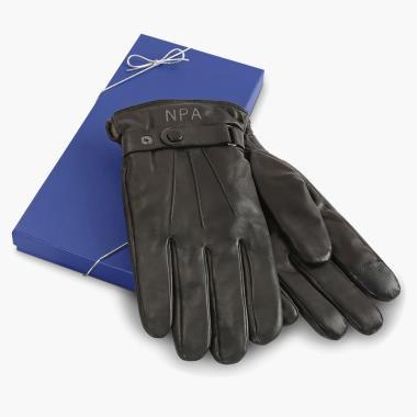 The Monogrammed Lambskin Gloves (Men?s).