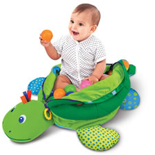 The Personalized Turtle Ball Playpen
