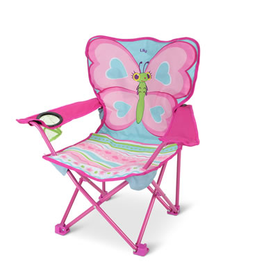 The Personalized Butterfly Camp Chair