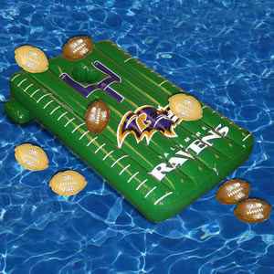 The Inflatable NFL Pool Toss Game