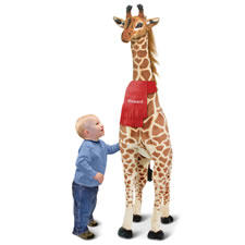 The Personalized 4 1/2 Foot Giraffe