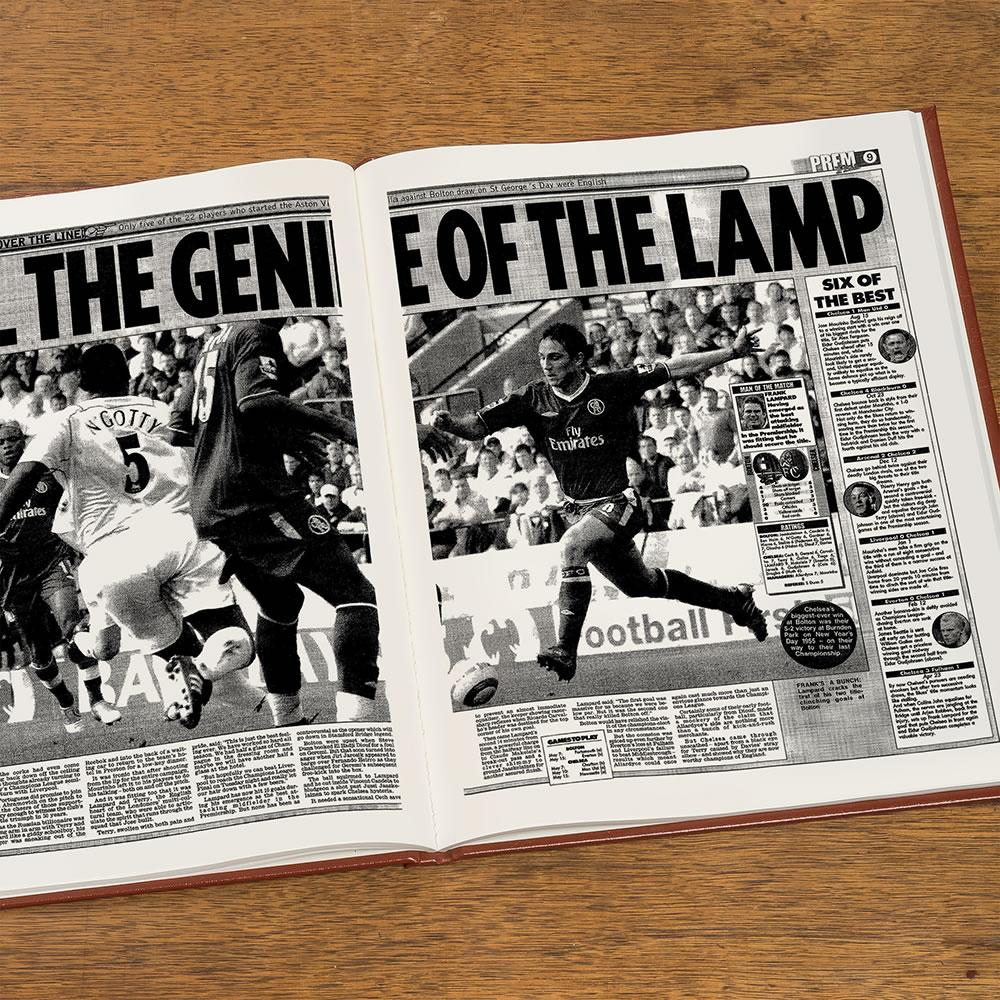 Newspaper History Of Your UK Soccer Team - Hammacher Schlemmer 5a730500a