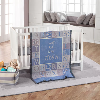The Personalized Baby Blanket