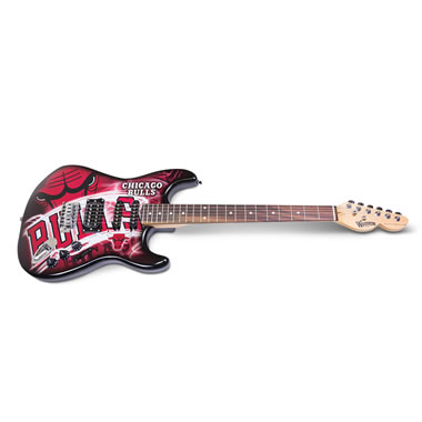 The Rock And NBA Fanatic's Electric Guitar