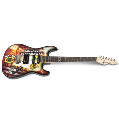 The Rock And NHL Fanatic's Electric Guitar