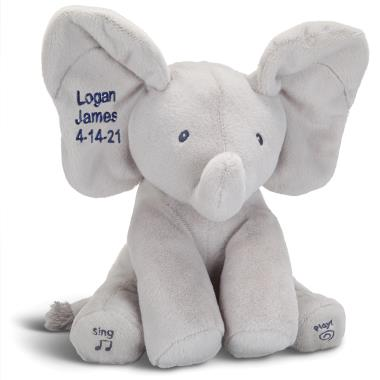 The Personalized Singing Peek-A-Boo Pachyderm
