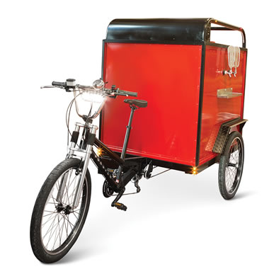 The Better Humor Beer Pedaler