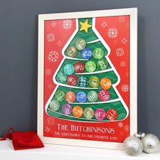 The Personalized Advent Calendar