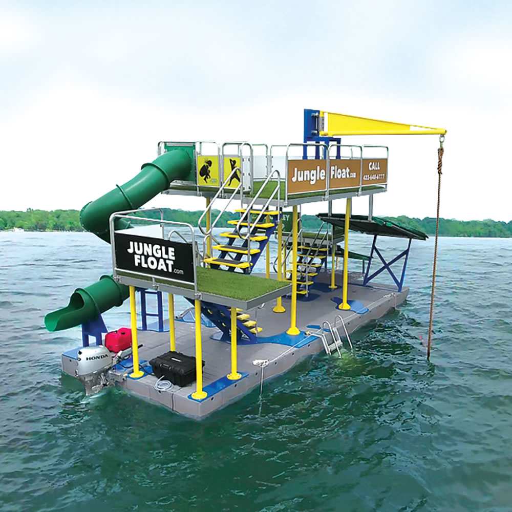72ba2e7994 The Navigable Water Park - Hammacher Schlemmer
