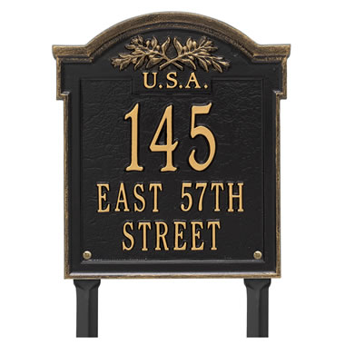 Historic Homes Address Plaque Franlin Wa