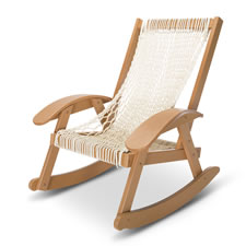 The Pawleys Island Hammock Sling Rocker