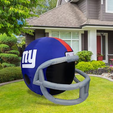 The 4' Illuminated NFL Lawn Helmet