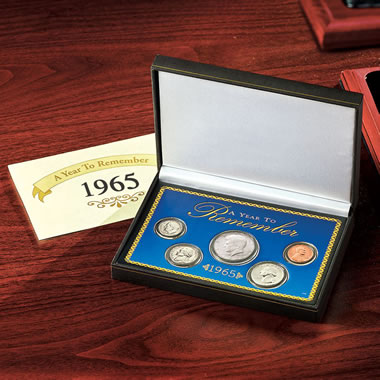 The Year to Remember Coin Set.