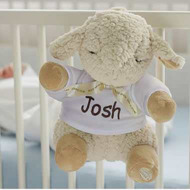 The Award Winning Personalized Infant's Sleep Sound Lamb