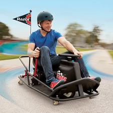 The 360 Degree Spin Drifting Go Kart