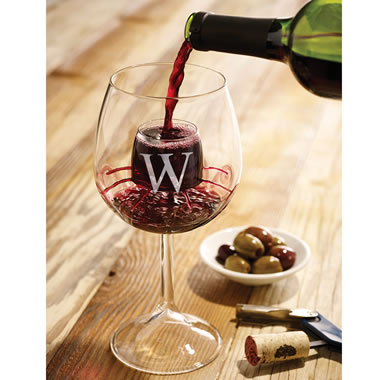 The Only Personalized Self Aerating Wine Glasses (Stemmed)