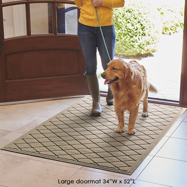 The Water Absorbing Floor Guard