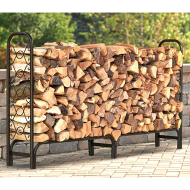The High Capacity Covered Log Rack