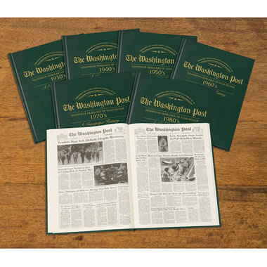 The Washington Post Personalized Decade Book