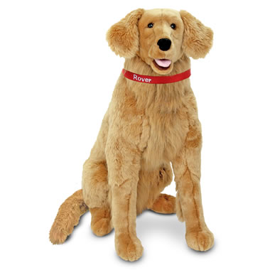 The Child's Own Personalized Pet (Golden Retriever)