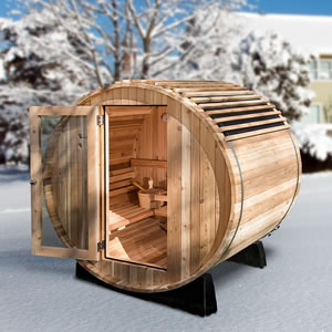 The Finnish Barrel Sauna