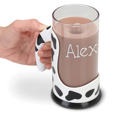 The Personalized Messless Chocolate Milk Mixing Mug