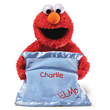 The Personalized Peek-A-Boo Elmo
