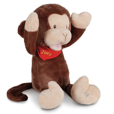 The Personalized Nursery Rhyme Singing Monkey