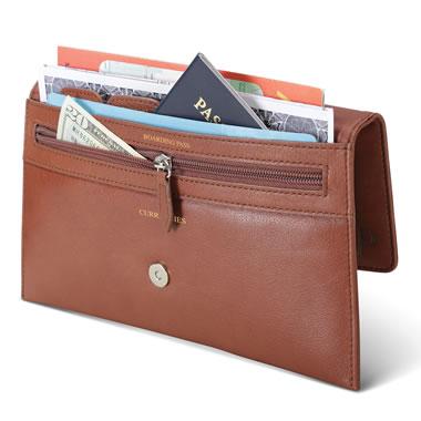 The Monogrammed Organized Traveler's Wallet
