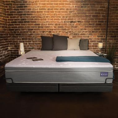 The Only Responsive Smart Bed - Sleep positions monitored