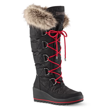 Subzero Snow Boot Tall 10 Blk
