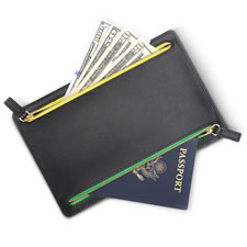 The Organized Traveler's Compartmented Wallet
