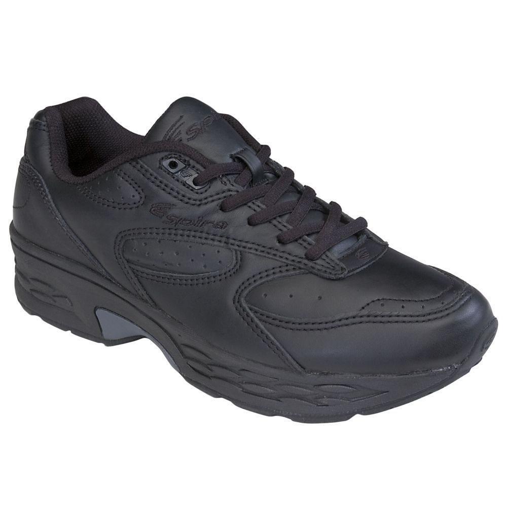 7f5117412be The Double Wide Width Spring Loaded Walking Shoes (Women s) - Black