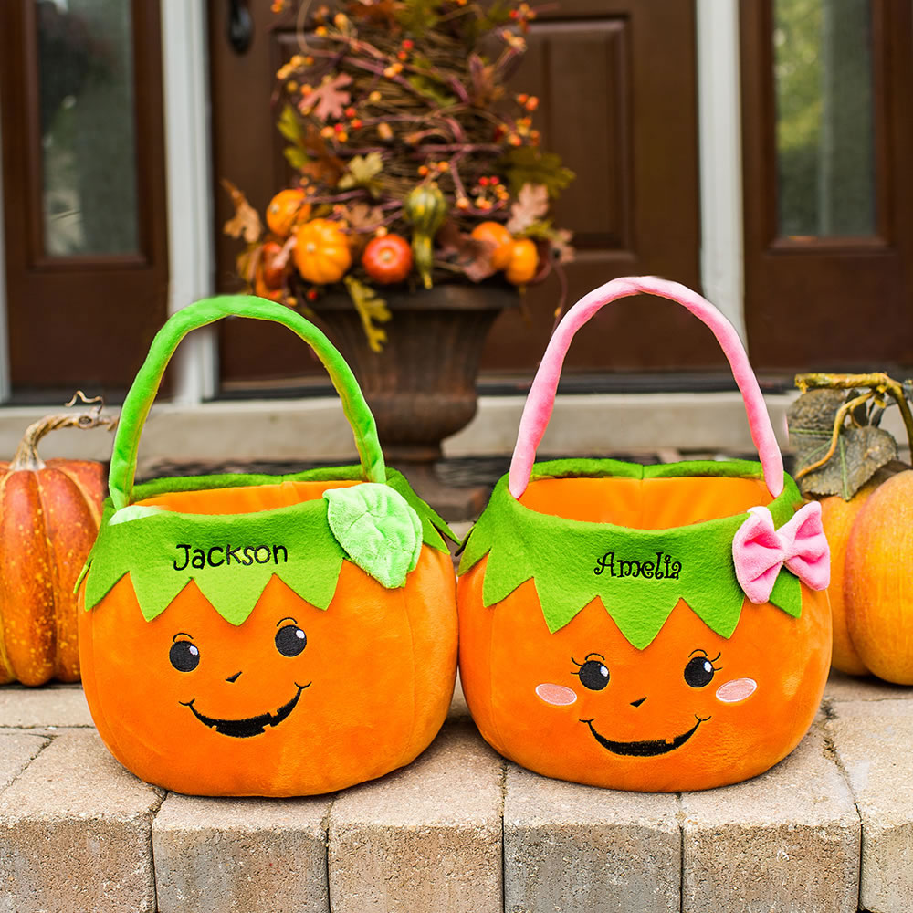The Personalized Trick Or Treat Bag