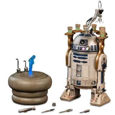 The 1/6th Scale R2-D2 Model