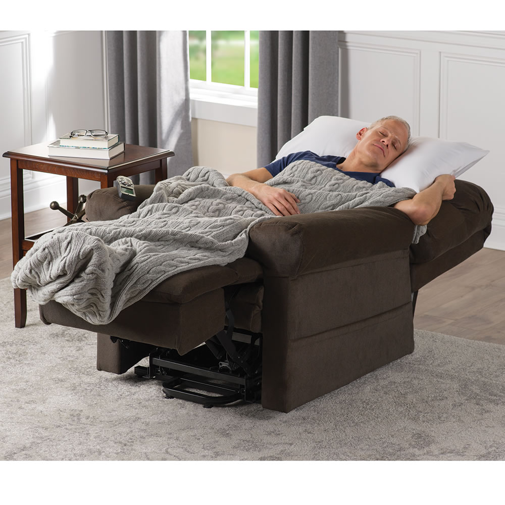 Astonishing The Sleeper Lift Chair With Massage And Heat Andrewgaddart Wooden Chair Designs For Living Room Andrewgaddartcom