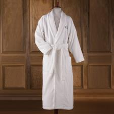 The Monogrammed Hammacher Schlemmer Genuine Turkish Cotton Luxury Bathrobe