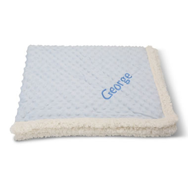 The Baby's Personalized Plush Blanket - Soft interior