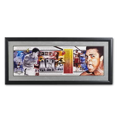 The Muhammad Ali Autographed Photo Collage