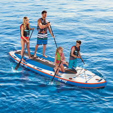 The Four Person Portable Paddle Board