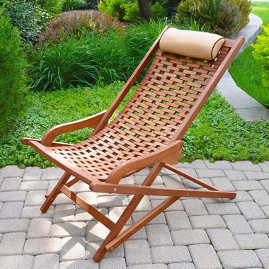The Easy In Easy Out Sling Chair