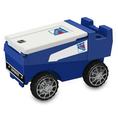 The NY Rangers RC Zamboni Cooler