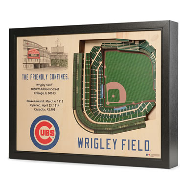 The Framed 3D Stadium Replicas