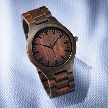 The Naturalist's Walnut Watch
