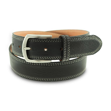 The Classic American Bison Belt Black