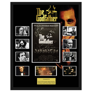 Godfather 25Th Anniversary Autographed Poster