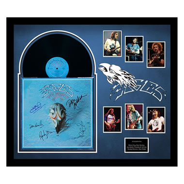 Eagles Greatest Hits Ii Autographed Album